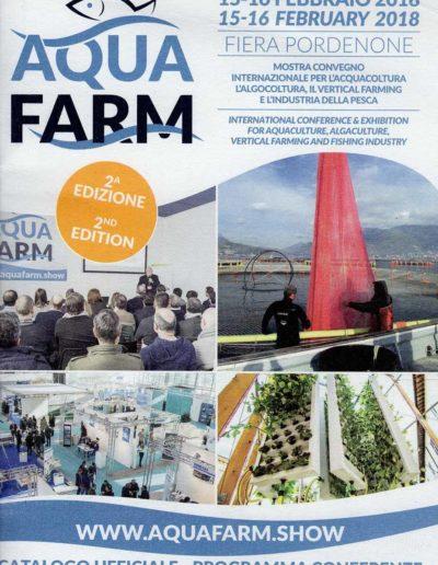 Articolo VFI - Acqua Farm, 2018