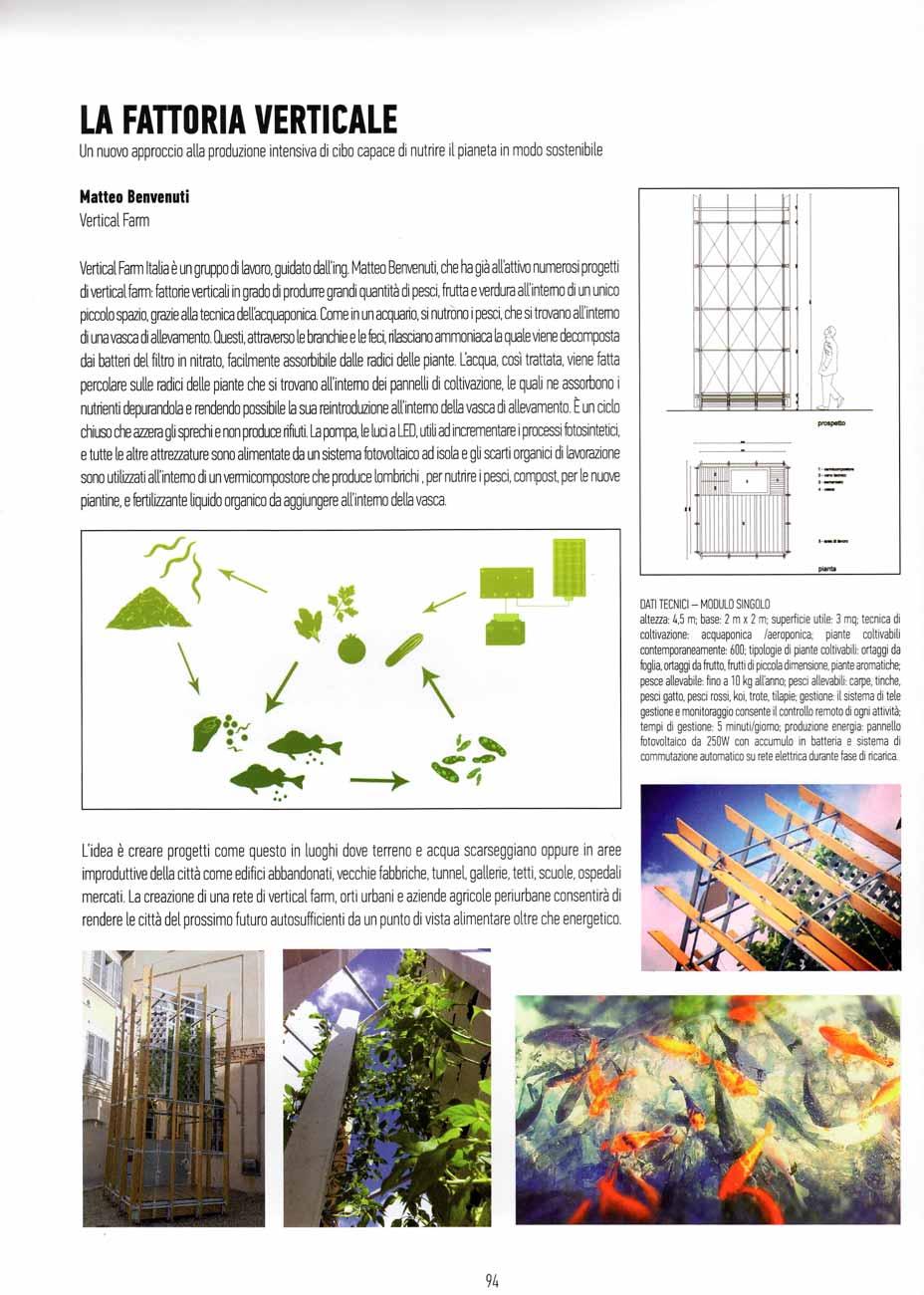 Articolo VFI - Architettura e Natura, 2016 - articolo