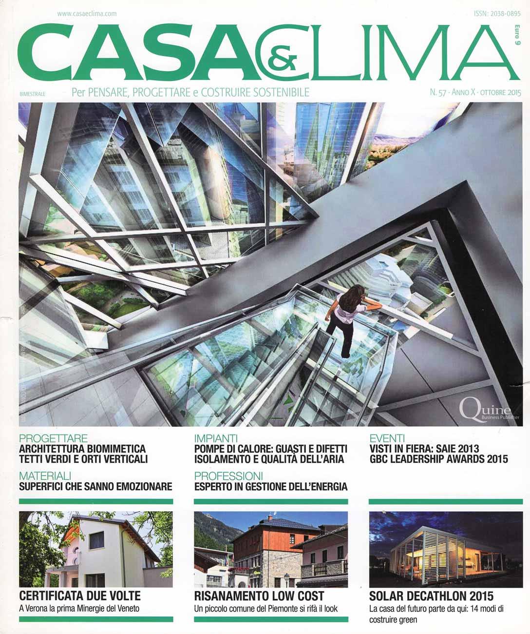 Articolo VFI - Casa e Clima, 2015